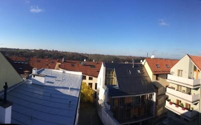 výhled z oken